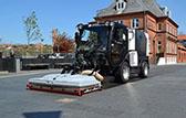 Fregadoras viales capaces de trabajar en entornos urbanos.